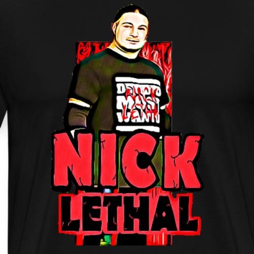 NickLethal001 - Men's Premium T-Shirt