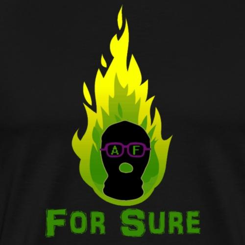 For Sure Kit AF Logo For AlexCaughtFire 500 by 575 - Men's Premium T-Shirt