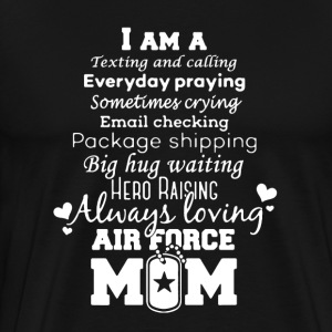 AIR FORCE MOM TEE SHIRT - Men's Premium T-Shirt