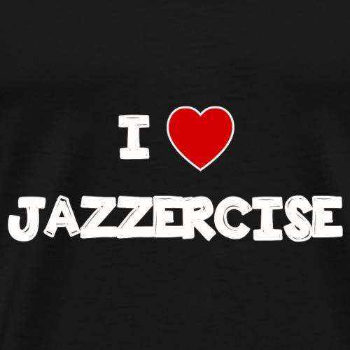 i_love_jazzercise - Men's Premium T-Shirt