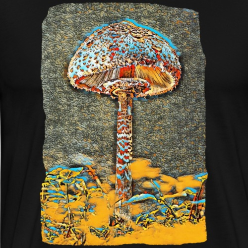 MACROLEPIOTA FROM A COLOURFUL WORLD - Men's Premium T-Shirt