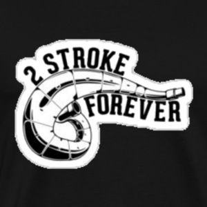 2 stroke forever - T-shirt premium pour hommes