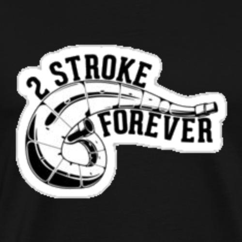 2 stroke forever - Men's Premium T-Shirt