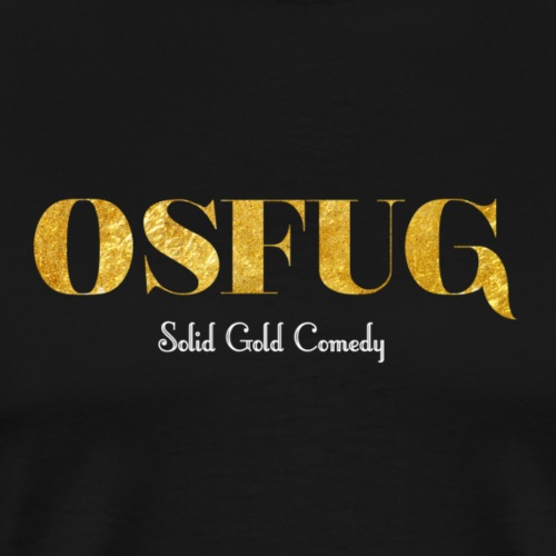 Gold Comedy - Men's Premium T-Shirt