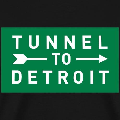 Tunnel to Detroit - Men's Premium T-Shirt