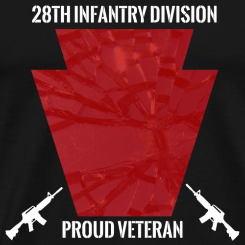 28th ID Veteran White - Men's Premium T-Shirt