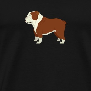 English Bulldog - Men's Premium T-Shirt