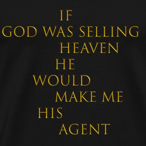 selling heaven - Men's Premium T-Shirt