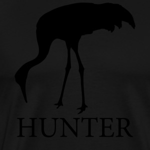 Crane Hunter - Men's Premium T-Shirt