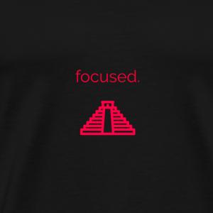 Focused. - Men's Premium T-Shirt