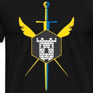 Knights of Crossford (Light) - Men's Premium T-Shirt