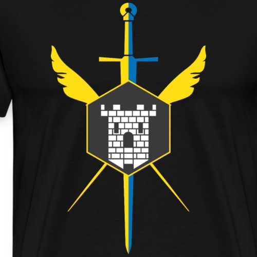 Knights of Crossford (Light) - Men's Premium T-Shirt