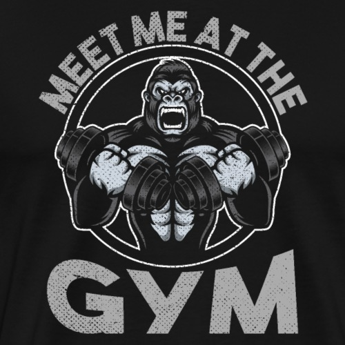 Meet Me At The Gym - Men's Premium T-Shirt
