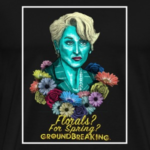 Florals For Spring - Men's Premium T-Shirt