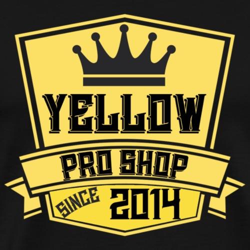 Yellow Pro Shop Logo - Men's Premium T-Shirt