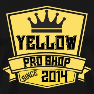 Yellow Pro Shop Logo - Men's Premium T-Shirt