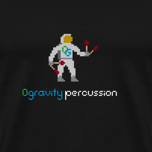 0gravity pixelnaut 1 - Men's Premium T-Shirt