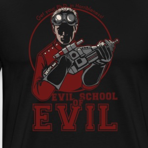 Dr.Horrible's Evil School of Evil - Men's Premium T-Shirt