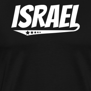 Israel Retro Comic Book Style Logo Israeli - Men's Premium T-Shirt
