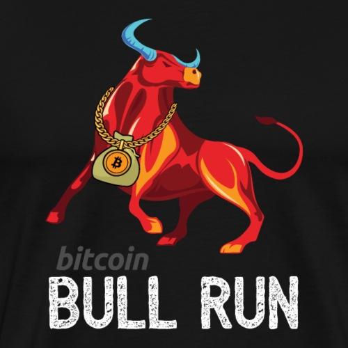 Bitcoin BTC Bull Run - Men's Premium T-Shirt