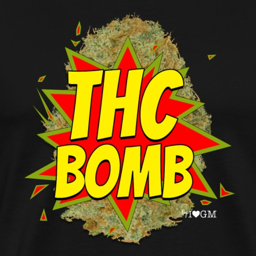 THC Bomb! - Men's Premium T-Shirt