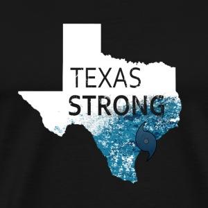 Texas Strong Harvey Texas Graphic (white) - Men's Premium T-Shirt