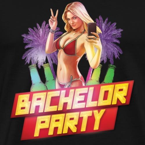 Bachelor Party GTA Edition 2018 - Men's Premium T-Shirt