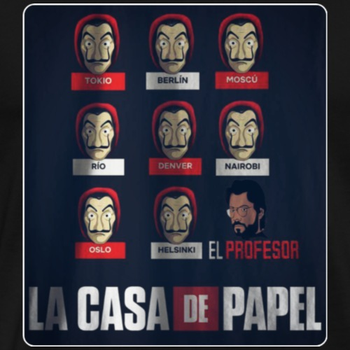 LA CASA DE PAPEL - Men's Premium T-Shirt