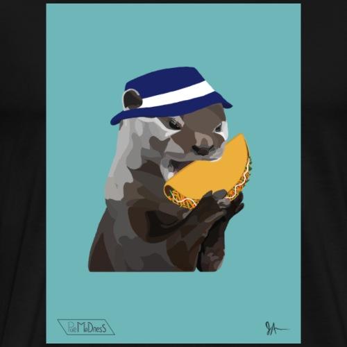 Bucket Hat Otter - Men's Premium T-Shirt