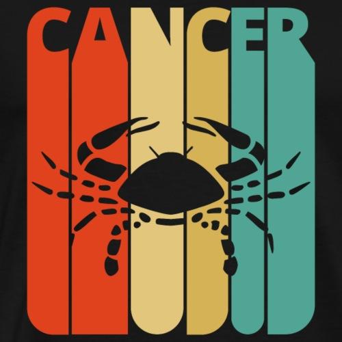 Vintage Zodiac Cancer Sign Gift Christmas.Birthday - Men's Premium T-Shirt
