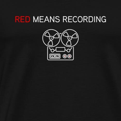 Reel to Reel - Men's Premium T-Shirt