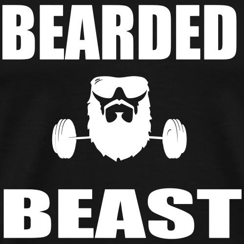 Bearded Beast - Men's Premium T-Shirt