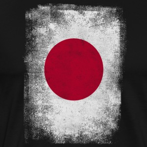 Japan Flag Proud Japanese Vintage Distressed - Men's Premium T-Shirt