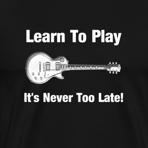 Learn to play guitar - Men's Premium T-Shirt