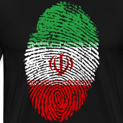 Iran Fingerprint - Men's Premium T-Shirt