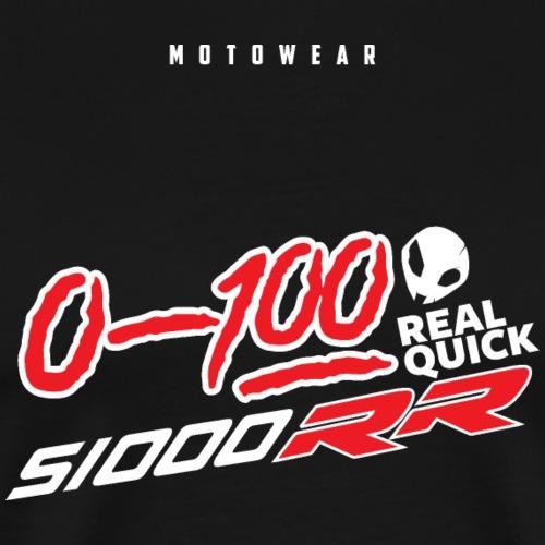 0 100 REAL QUICK - Men's Premium T-Shirt