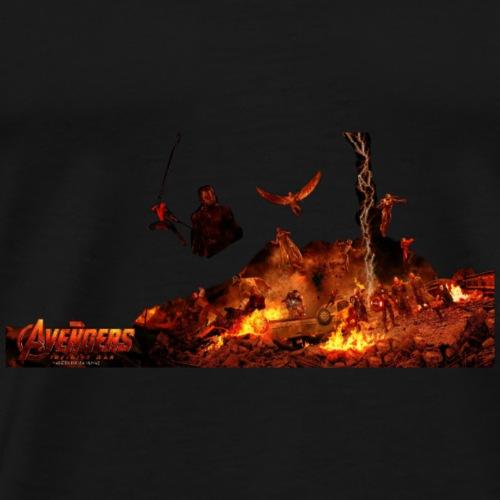Avanger infinity war - Men's Premium T-Shirt