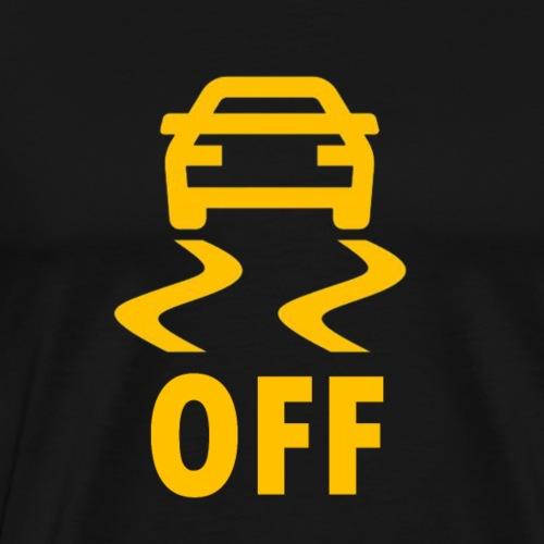 TRACTION OFF - Men's Premium T-Shirt
