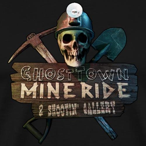 Ghost Town Mine Ride - Men's Premium T-Shirt