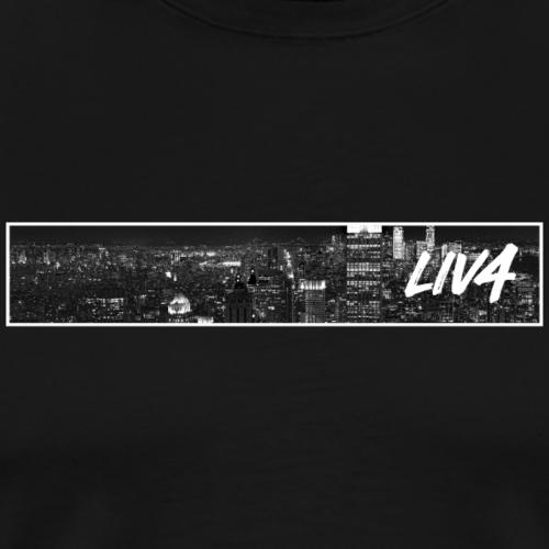 CITY: New York (Skyline) - Men's Premium T-Shirt