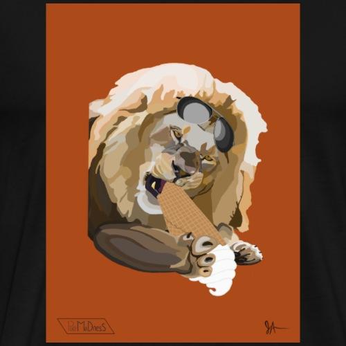 Sunglasses Lion - Men's Premium T-Shirt