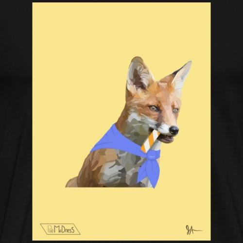 Ascot Fox - Men's Premium T-Shirt