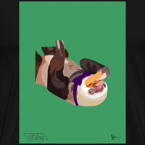 Bow Tie Sloth - Men's Premium T-Shirt