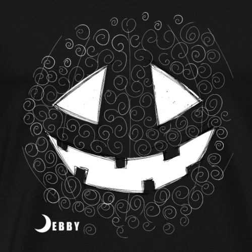 PUMPKIN FACE - 🍂FALL COLLECTION by DEBBY🍁 - Men's Premium T-Shirt