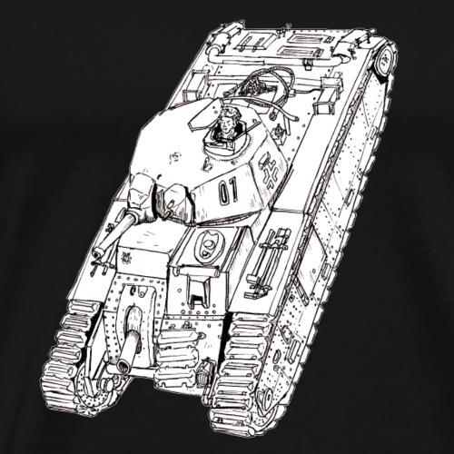 char B1 - Men's Premium T-Shirt