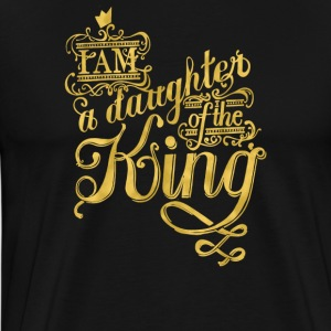 I am a daughter of the king - Men's Premium T-Shirt