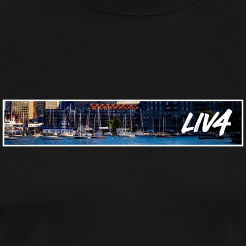 CITY: Boston (Harbor) - Men's Premium T-Shirt