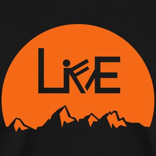 Live Life Teton [M, W, K] - Men's Premium T-Shirt