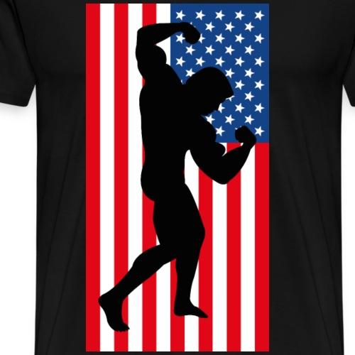 Bodybuilding USA - Men's Premium T-Shirt