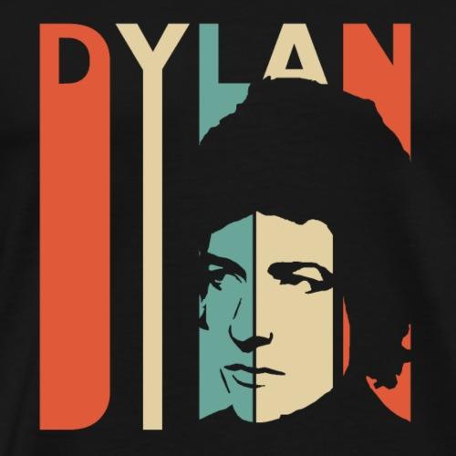 Retro American Dylan - Men's Premium T-Shirt